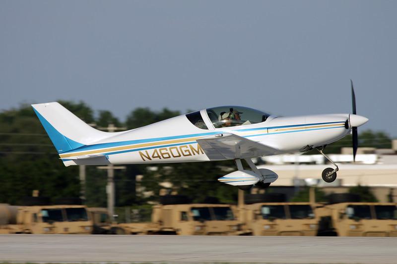 N460GM Aero Designs Pulsar XP c/n 460 Oshkosh/KOSH/OSH 26-07-10