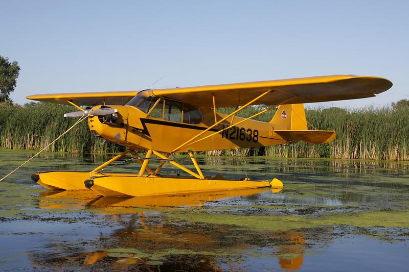 N21638 Piper J/3C 65 Cub c/n 2519 Oshkosh/KOSH/OSH 28-07-10