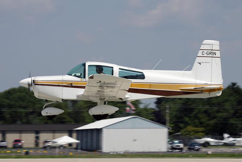 C-GRIN American Aviation AA-5 Traveler c/n 0536 Oshkosh/KOSH/OSH 29-07-10