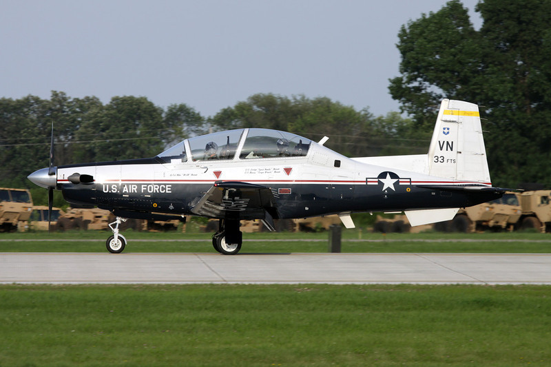 "04-3733 Raytheon T-6A Texan II ""United States Air Force"" c/n PT-285 Oshkosh/KOSH/OSH 29-07-10"