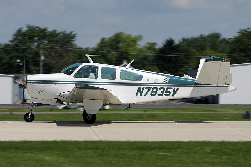 N7835V Beech V35B Bonanza c/n D-10155 Oshkosh/KOSH/OSH 28-07-10