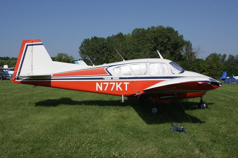 N77KT Piper PA-23-160 Apache c/n 23-1306 Oshkosh/KOSH/OSH 29-07-10