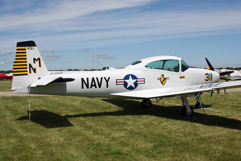 N7BJ (311/NM) Ryan Navion A c/n NAV-4-1196 Oshkosh/KOSH/OSH 29-07-13