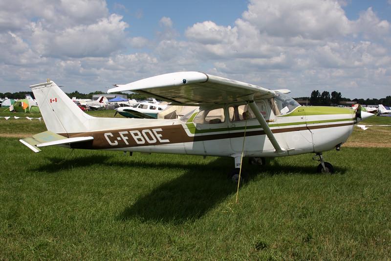 CF-BOE (C-FBOE) Cessna 172M c/n 172-60858 Oshkosh/KOSH/OSH 01-08-13