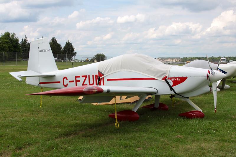 C-FZUM Van's RV-7A c/n 72575 Oshkosh/KOSH/OSH 30-07-13