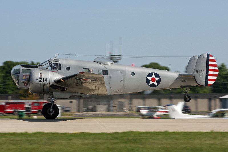 N214CR (19486) Beech AT-11 Kansan c/n 912 Oshkosh/KOSH/OSH 04-08-13