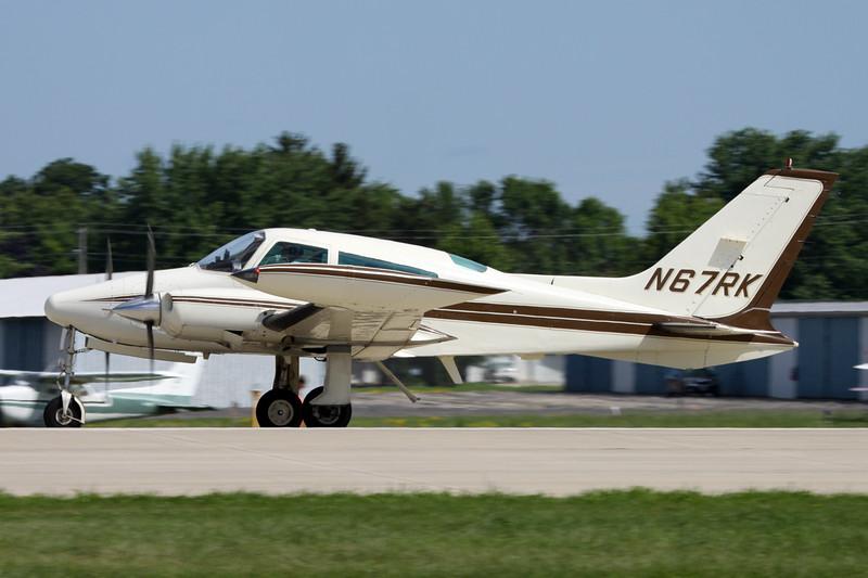 N67RK Cessna T.310Q c/n 310A-1107 Oshkosh/KOSH/OSH 04-08-13