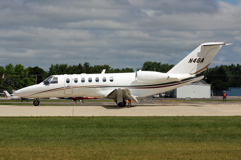 N4GA Cessna 525B Citation Jet 3 c/n 525B-0055 Oshkosh/KOSH/OSH 29-07-13