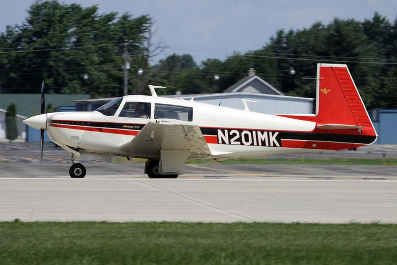 N201MK Mooney M.20J c/n 24-0204 Oshkosh/KOSH/OSH 01-08-13
