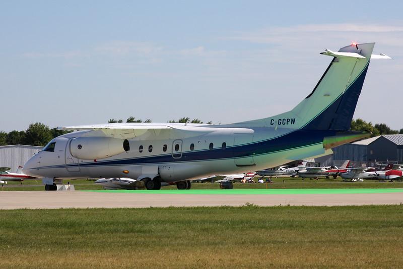 """C-GCPW Dornier Do.328-300 Jet """"Pratt & Whitney"""" c/n 3129 Oshkosh/KOSH/OSH 01-08-13"""