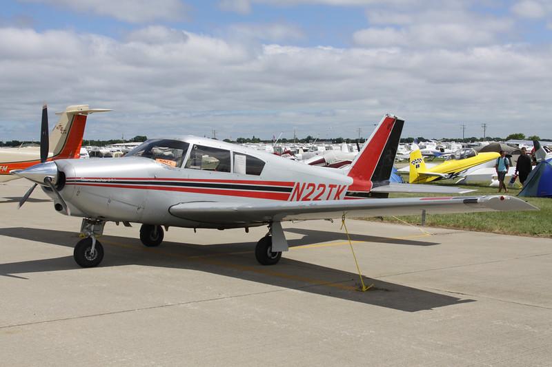 N22TK Piper PA-24-250 Comanche c/n 24-3541 Oshkosh/KOSH/OSH 29-07-13
