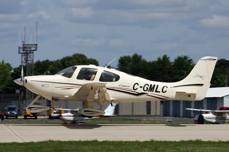 C-GMLC Cirrus Design SR-22 c/n 0735 Oshkosh/KOSH/OSH 04-08-13