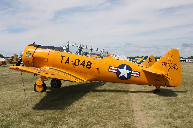 N42JM (115048/TA-048) North American T-6G Texan c/n 182-735 Oshkosh/KOSH/OSH 29-07-13