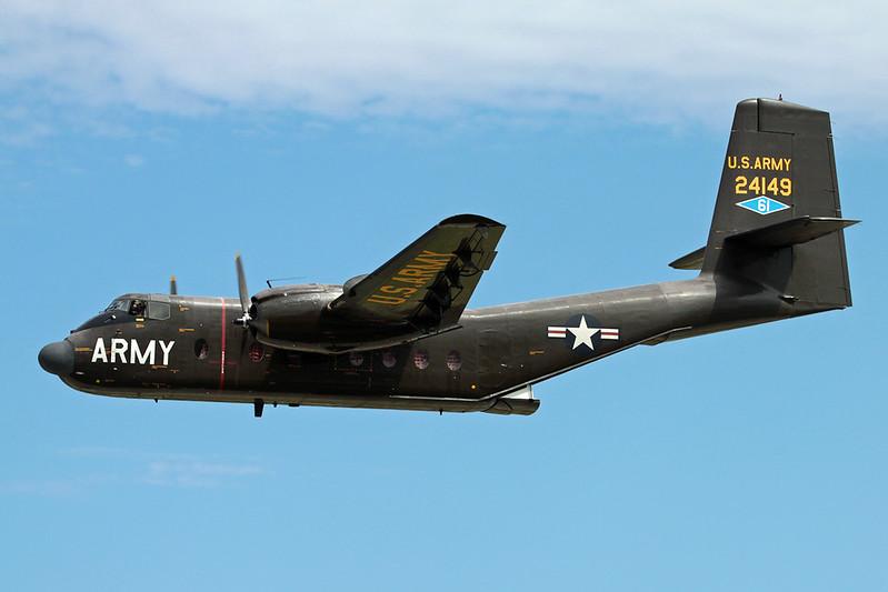 N149HF (24149) de Havilland Canada C-7B Caribou c/n 85 Oshkosh/KOSH/OSH 03-08-13