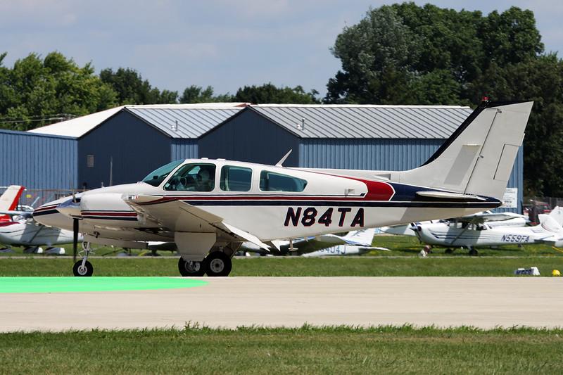 N84TA Beech B55 Baron c/n TC-1769 Oshkosh/KOSH/OSH 01-08-13