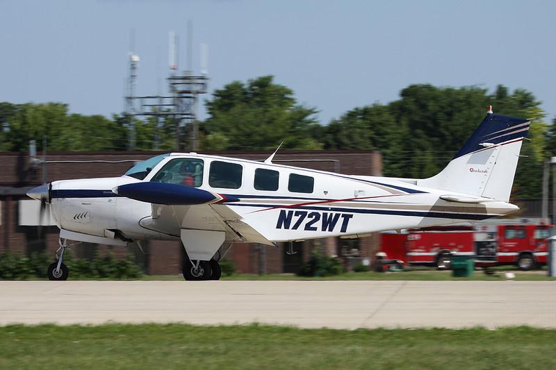 N72WT Beech A36 Bonanza 36 c/n E-2165 Oshkosh/KOSH/OSH 04-08-13
