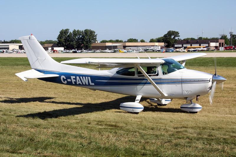 C-FAWL Cessna 182R c/n 182-68547 Oshkosh/KOSH/OSH 01-08-13