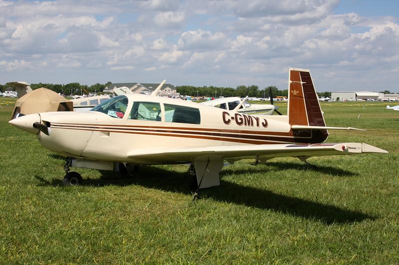 C-GMYJ Mooney M.20J c/n 24-0733 Oshkosh/KOSH/OSH 01-08-13