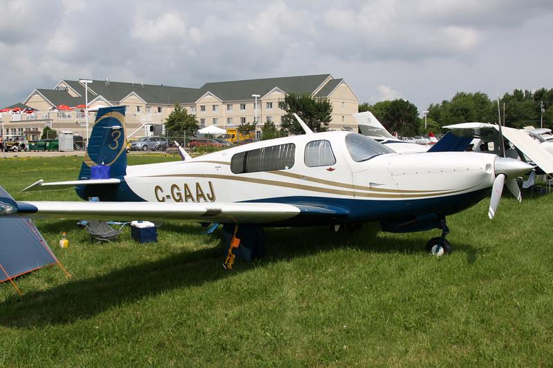 C-GAAJ Mooney M.20R c/n 29-0475 Oshkosh/KOSH/OSH 31-07-13