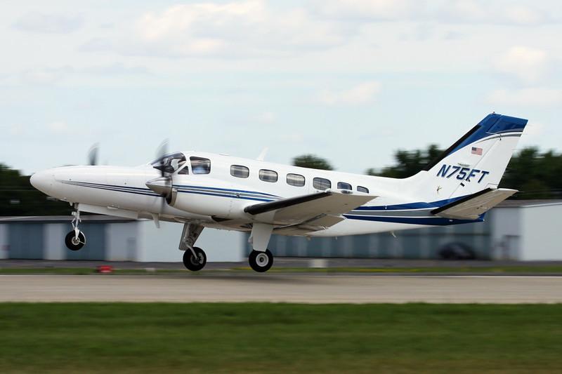 N75FT Cessna 441 Conquest II c/n 441-0269 Oshkosh/KOSH/OSH 04-08-13