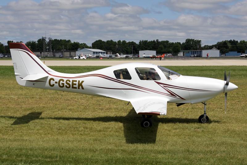 C-GSEK Neico Lancair IV c/n 193 Oshkosh/KOSH/OSH 29-07-13