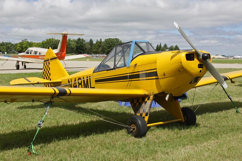 N48ML Bowers Fly Baby 1-A c/n CM-1 Oshkosh/KOSH/OSH 29-07-13