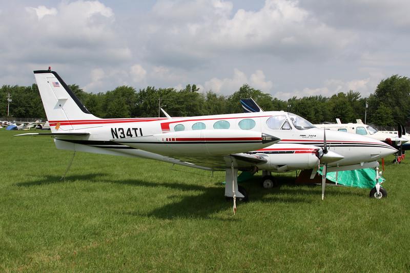 N34TL Cessna 340A c/n 340A-0423 Oshkosh/KOSH/OSH 31-07-13