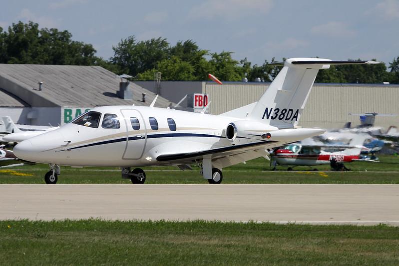N38DA Eclipse Aviation 500 c/n 000083 Oshkosh/KOSH/OSH 01-08-13