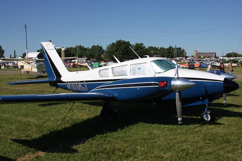 N16NJ Piper PA-30-160 Twin Comanche C c/n 30-1845 Oshkosh/KOSH/OSH 03-08-13