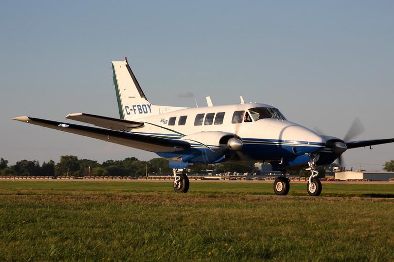 C-FBOY Beech A65 Queen Air c/n LC-302 Oshkosh/KOSH/OSH 01-08-13