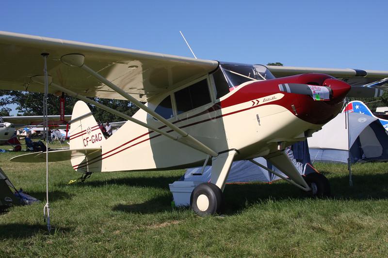CF-GAG Piper PA-20 Pacer c/n 20-213 Oshkosh/KOSH/OSH 03-08-13