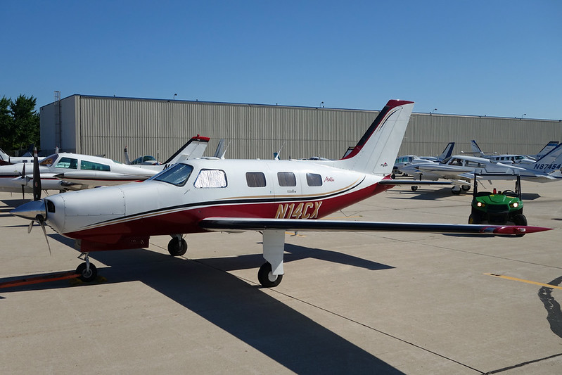 N14CX Piper PA-46-310P Malibu c/n 4608107 Oshkosh/KOSH/OSH 25-07-15