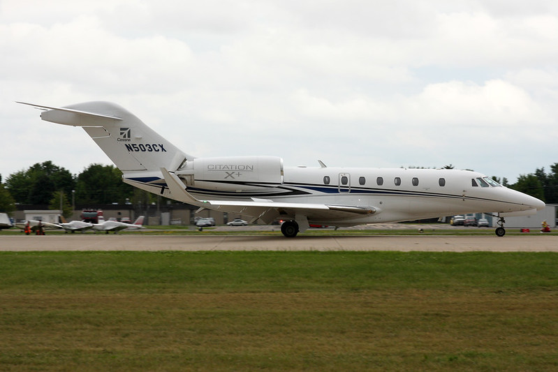 N503CX Cessna 750 Citation X c/n 750-0503 Oshkosh/KOSH/OSH 28-07-16