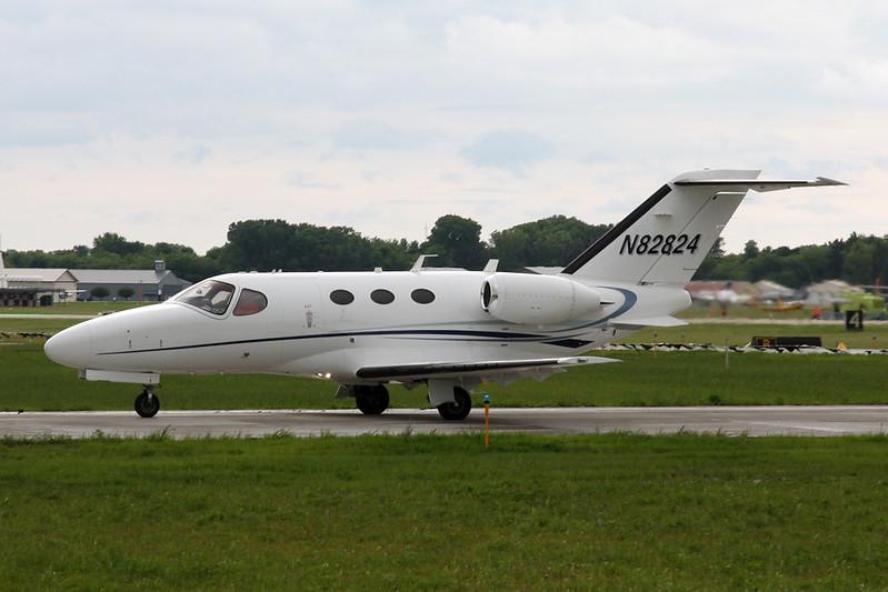 N82824 Cessna 510 Citation Mustang c/n 510-0279 Oshkosh/KOSH/OSH 28-07-16