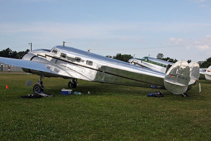 N2072 (NC2072) Lockheed 12A Electra Junior c/n 1208 Oshkosh/KOSH/OSH 27-07-16