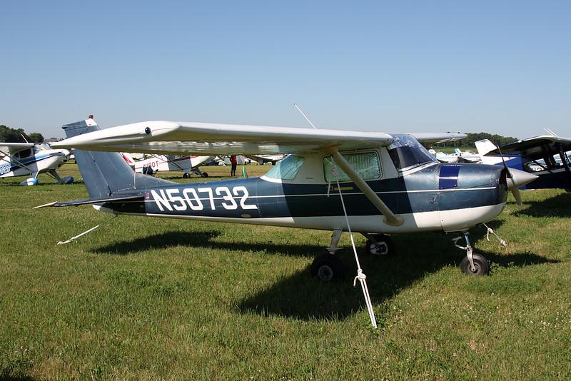 N50732 Cessna 150J c/n 150-69515 Oshkosh/KOSH/OSH 26-07-16