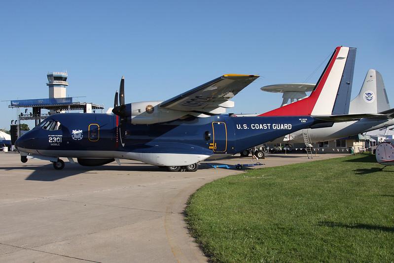 "2301 CASA HC-144A Ocean Sentry ""United States Coast Guard"" c/n C167 Oshkosh/KOSH/OSH 25-07-16"