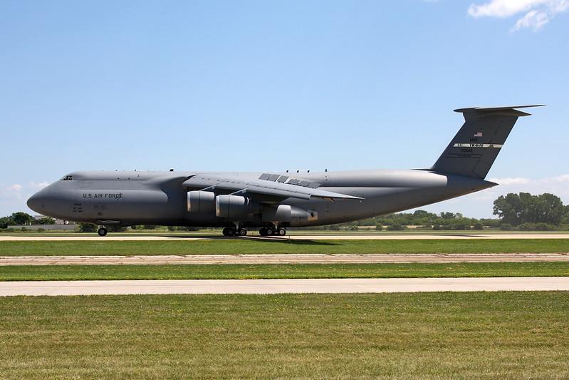 "87-0042 Lockheed C-5M Super Galaxy ""United States Air Force"" c/n 500-128 Oshkosh/KOSH/OSH 26-07-16"