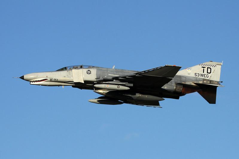 """73-1167 (TD) McDonnell-Douglas QF-4E Phantom II """"United States Air Force"""" c/n 4679 Oshkosh/KOSH/OSH 25-07-16"""