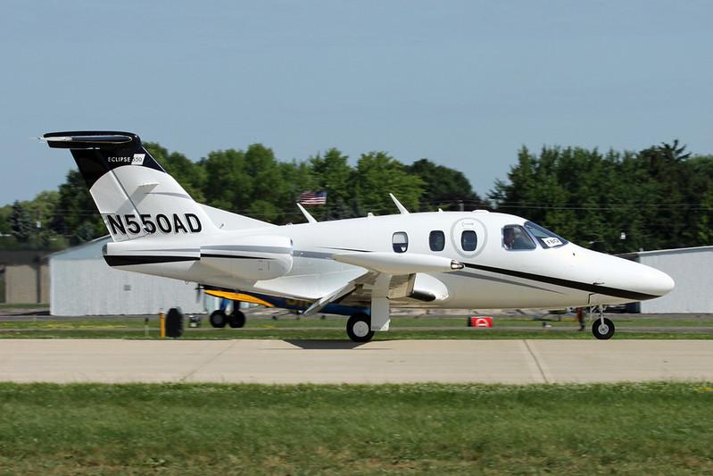 N550AD Eclipse Aviation 550 c/n 550-0263 Oshkosh/KOSH/OSH 30-07-16