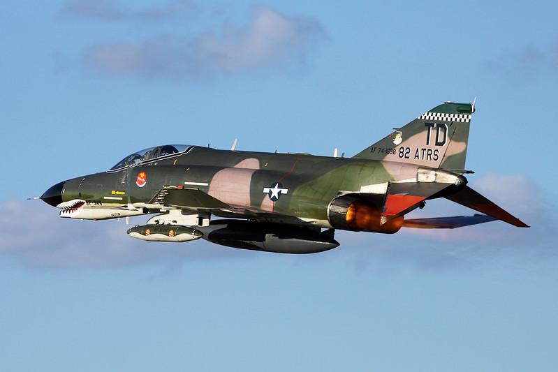 """74-1638 (TD) McDonnell-Douglas QF-4E Phantom II """"United States Air Force"""" c/n 4874 Oshkosh/KOSH/OSH 25-07-16"""