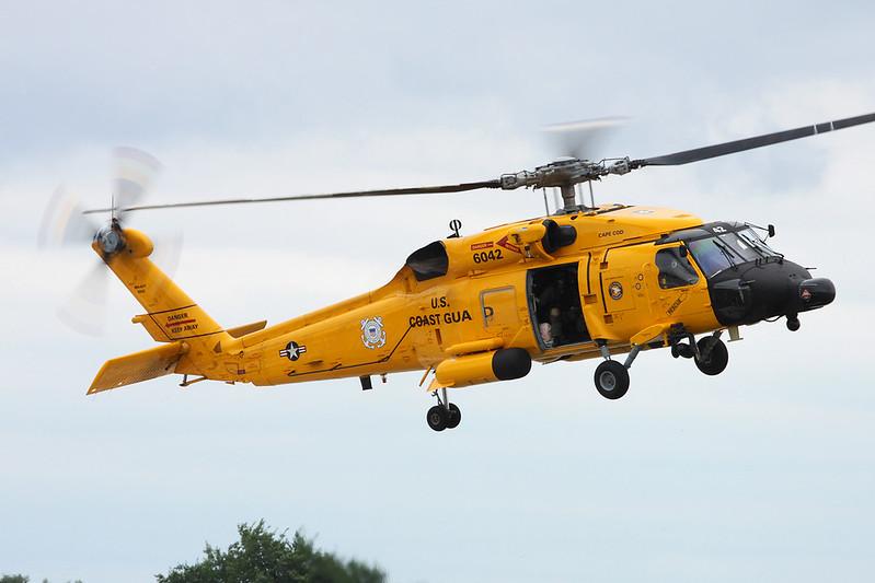 "6042 Sikorsky MH-60 Jayhawk ""United States Coast Guard"" c/n 702283 Oshkosh/KOSH/OSH 28-07-16"