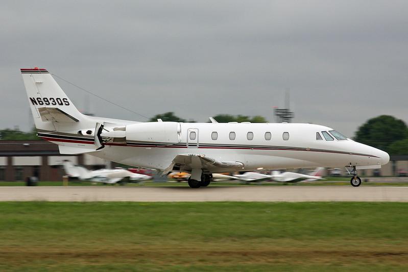 N693QS Cessna 560 Citation Excel S c/n 560-5657 Oshkosh/KOSH/OSH 29-07-16