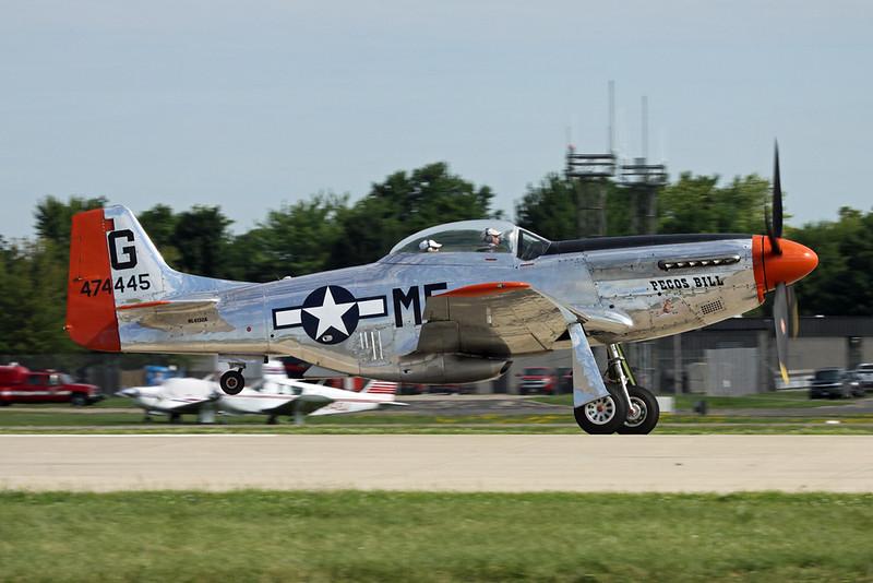 N4132A (474445/G) North American P-51D Mustang c/n 122-40985 Oshkosh/KOSH/OSH 30-07-16