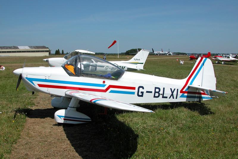 G-BLXI Scintex CP.1310 C3 Super Emeraude c/n 937 Kemble/EGBP 12-07-03