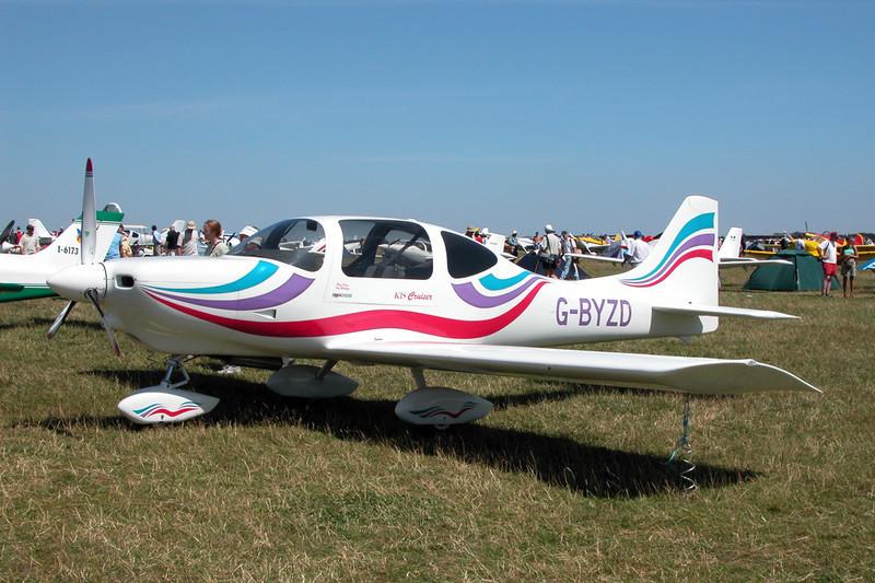 G-BYZD Tri-R TR-4 KIS Cruiser c/n PFA 302-13156 Kemble/EGBP 12-07-03
