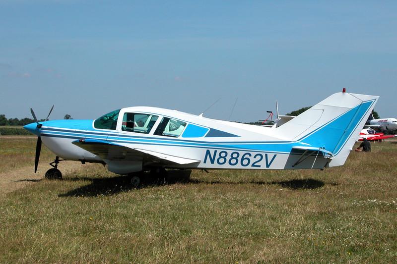 N8862V Bellanca 17-31 ATC Turbo Super Viking c/n 31022 Kemble/EGBP 12-07-03