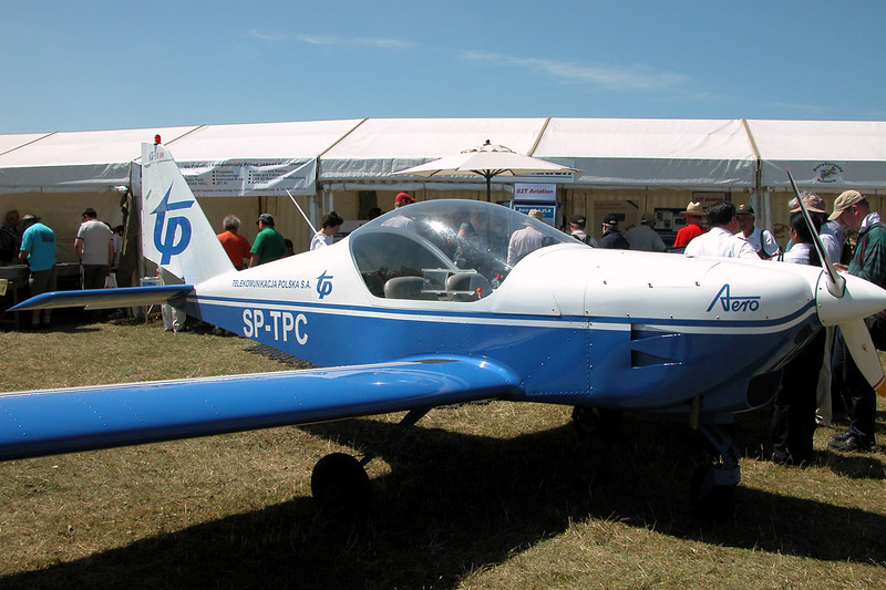 SP-TPC Aero AT-3L100 c/n AT3-001 Kemble/EGBP 12-07-03