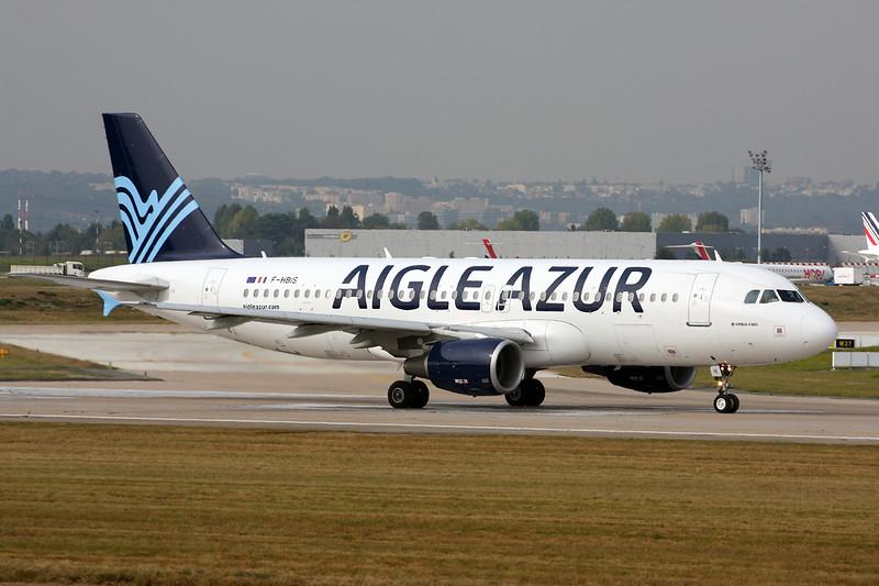 """F-HBIS Airbus A320-214 """"Aigle Azur"""" c/n 3136  Paris-Orly/LFPO/ORY 02-10-14"""