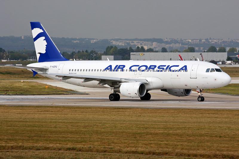 """F-HZPG Airbus A320-214 """"Air Corsica"""" c/n 5906 Paris-Orly/LFPO/ORY 02-10-14"""